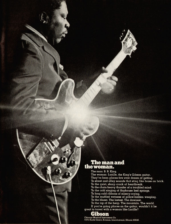 Gibson advertisement (1972) The Man and the Woman