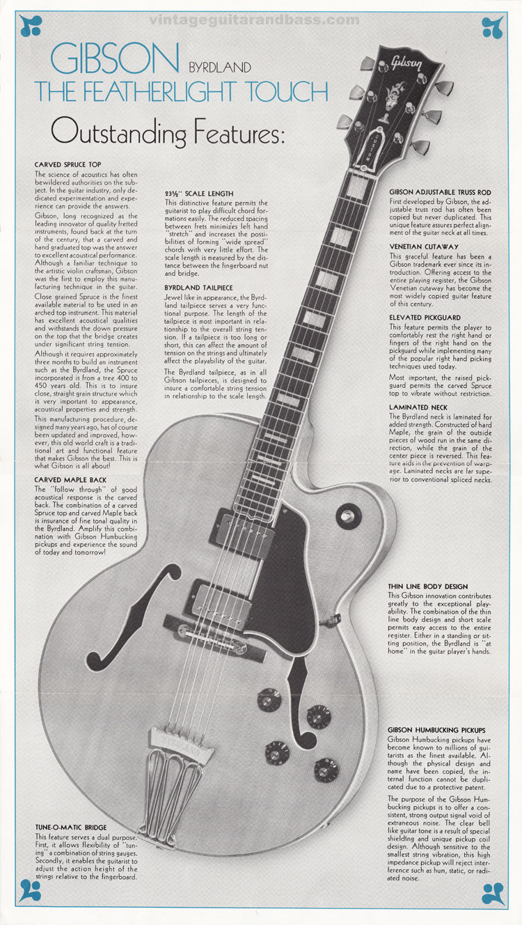 Gibson Byrdland showcase