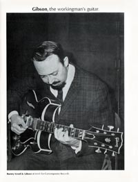 Gibson Barney Kessel - Gibson, the workingman