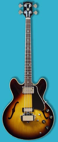 1968 Gibson EB-2D electric bass guitar