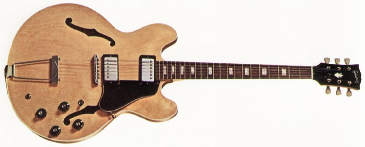 Gibson ES-340 TD natural finish