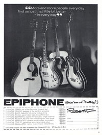 Epiphone Rivoli - More and More People Every Day Find Us Just That Little Bit Better - In Every Way