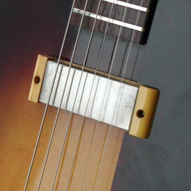 """1959 Epiphone Century. Early examples of the Century, like this, had the old Epiphone """"New York"""" pickups, later to be replaced by Gibson P90s"""