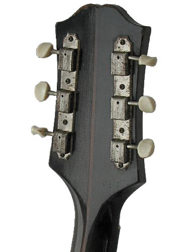 1959 Epiphone Century. Early versions of the Century, like this, had the old Epiphone metal plate logo, rather than the transfer version of later years