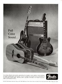Fender Jazz - Full Color Sound