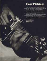 Fender Electric Guitars - 1971