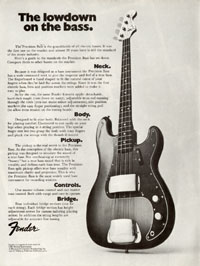 Fender Precision - The lowdown on the bass