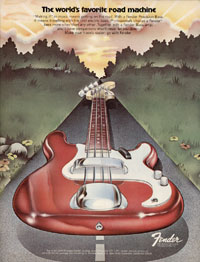 Fender Precision - The Worlds Favorite Road Machine