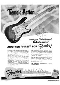 Fender Stratocaster - Synchronized tremolo action