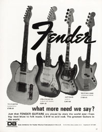 Fender Telecaster - Fender. What more need we say