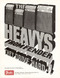 Fender Solid-State Twin Reverb - The Heavys From Fender