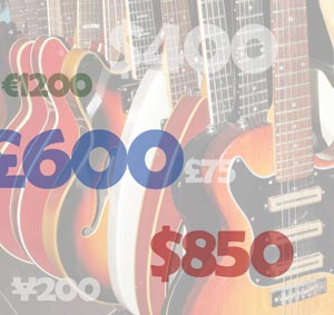 Finding out what your guitar is worth