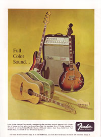 1967 Fender Ad - Full Colour Sound