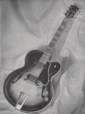 The ES-350 from the 1954 Gibson catalog