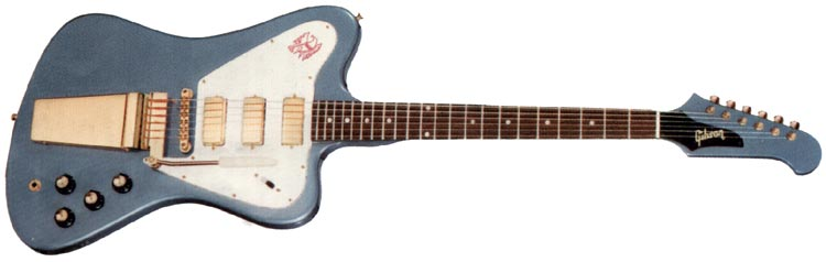 Gibson Firebird VII in Pelham Blue finish