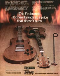 Gibson The SG - The Firebrands. Hot New Brands at a Price that Doesn