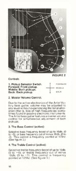 1981 Gibson Victory bass owners manual page 16