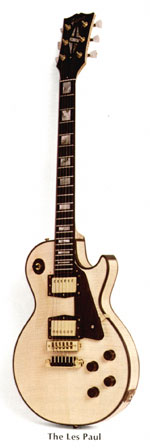Gibson's finest solid body guitar, The Les Paul