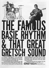 Gretsch Guitars - The Famous Basie Rhythm & that Great Gretsch Sound