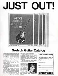 Gretsch Guitars - Just Out! Gretsch Guitar Catalog