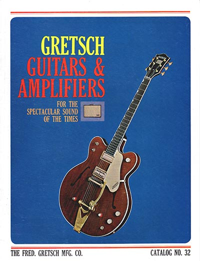 1965 Gretsch electric guitar and amplifier catalog