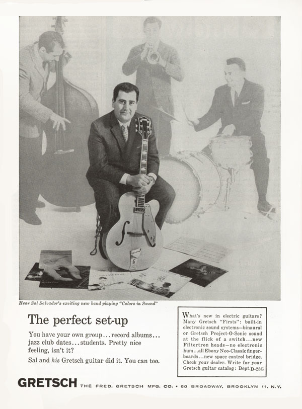 Gretsch advertisement (1961) The Perfect Set-Up