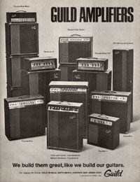 Guild Thunderstar bass - Guild Amplifiers