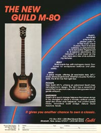 Guild M-80 - The New Guild M-80