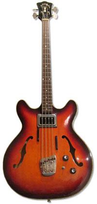 1968 Guild Starfire bass I