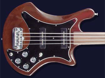 1978 Guild B302F fretless bass