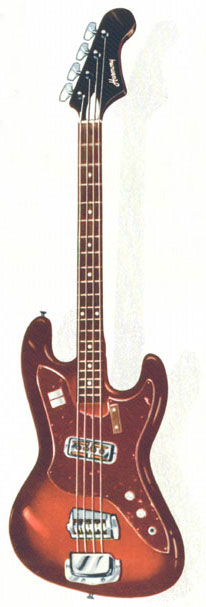 Harmony H25 Bass Guitar