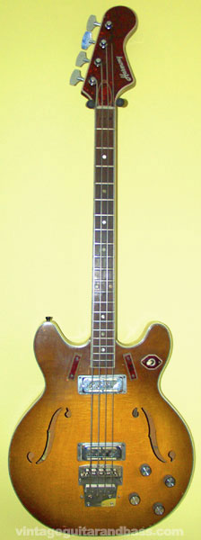 Harmony H27 bass front view