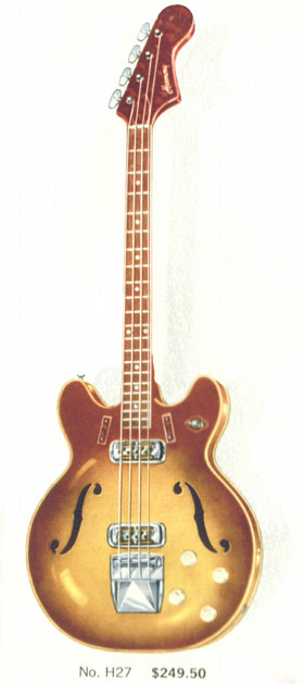 Harmony H27 Bass Guitar
