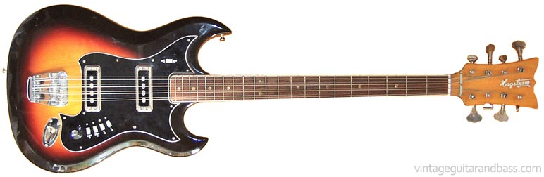 hagstrom h8 eight string bass vintage guitar and bass. Black Bedroom Furniture Sets. Home Design Ideas