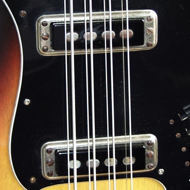 Hagstrom H8 Eight-String Bass Pickups