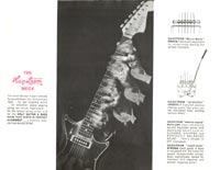 1966 Hagstrom guitar catalogue page 3