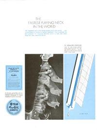 1968 Hagstrom guitar catalogue page 2