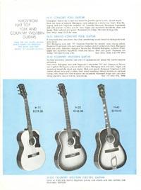 1968 Hagstrom guitar catalogue page 6