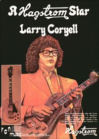 Hagstrom Super Swede - A Hagstrom Star - Larry Coryell