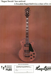 Hagstrom Super Swede - 1979