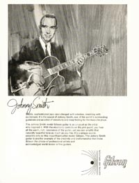 1966 Gibson Johnny Smith advert