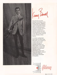 1966 Gibson Kenny Burrel advert