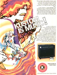 Kustom III Lead - Kustom is Music