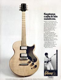Gibson L6-S Custom - Santana Calls it His Rainbow