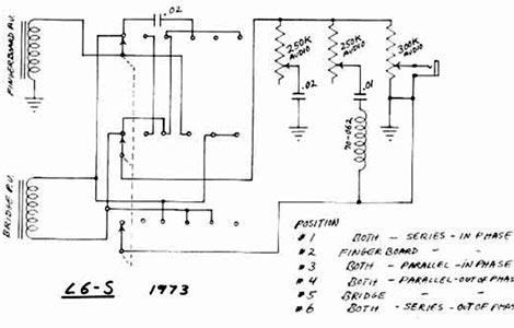 Gibson L6-S schematics & parts lists >> Vintage Guitar and B on marshall plexi tubes, marshall jcm 900 layout, marshall jcm pre amp, marshall tsl 100 first design, marshall parts list,