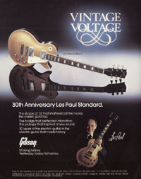 Gibson Les Paul Standard - Vintage Voltage. 30th Anniversary Les Paul Standard