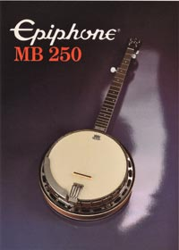 1982 Epiphone MB250 banjo(Japan)