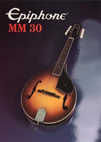 1982 Epiphone MM30 mandolin (Japan)