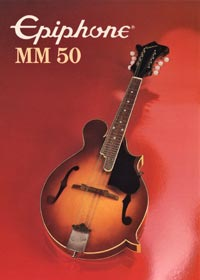 1982 Epiphone MM50 mandolin (Japan)