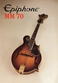 1982 Epiphone MM70 mandolin (Japan)
